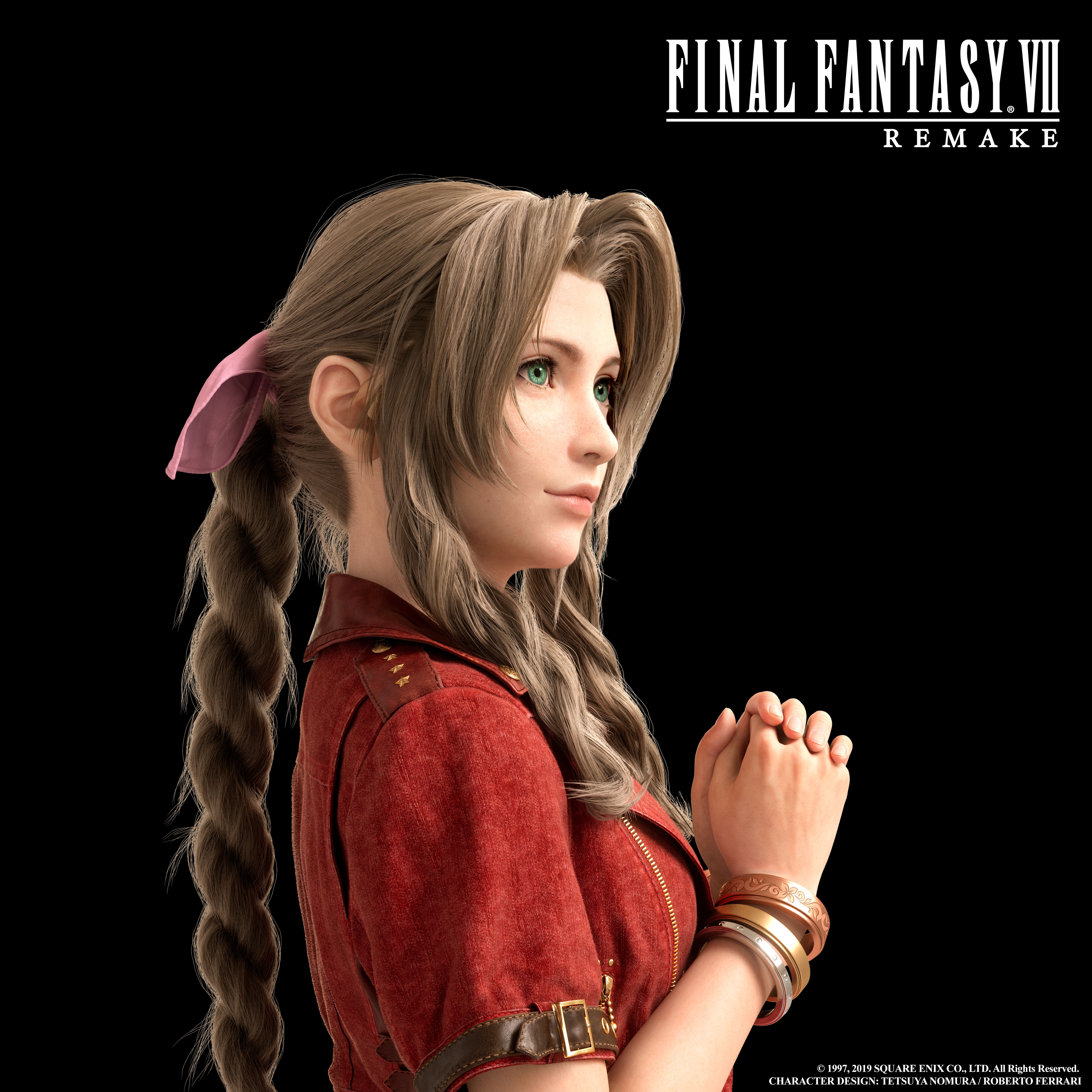 Gallery All Final Fantasy Vii Remake Character Art Push