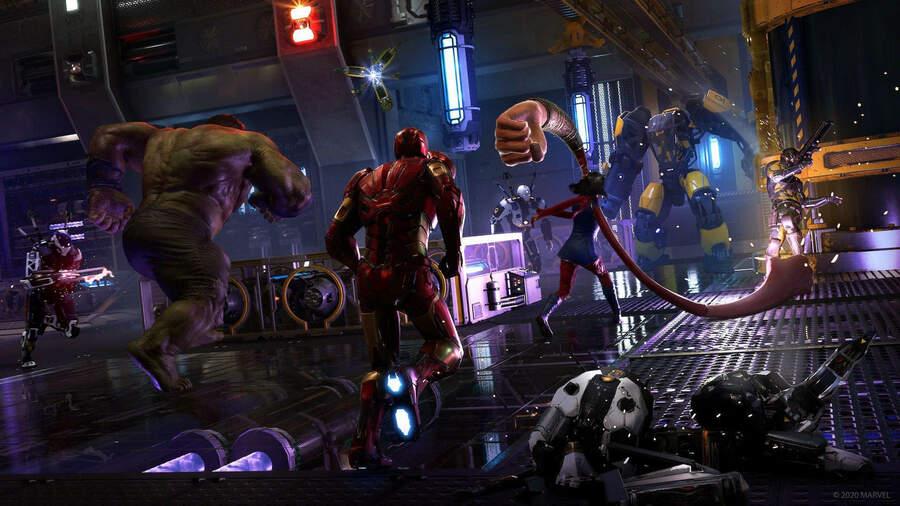 jugar con amigos Marvel´s Avengers es caos garantizado jugar