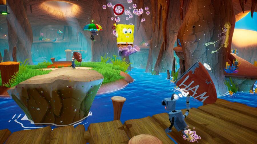 SpongeBob SquarePants Battle for Bikini Bottom Rehydrated PS4 PlayStation 4
