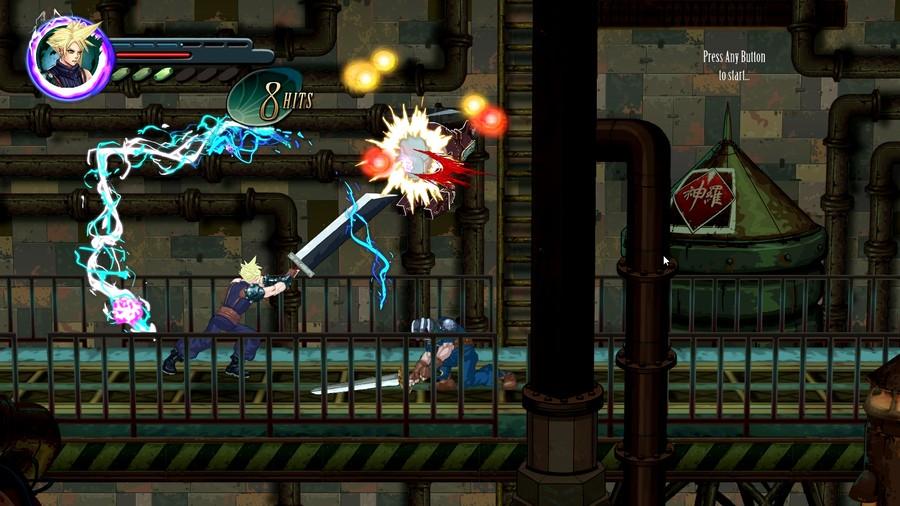 Final Fantasy 7 VII Beat Em Up