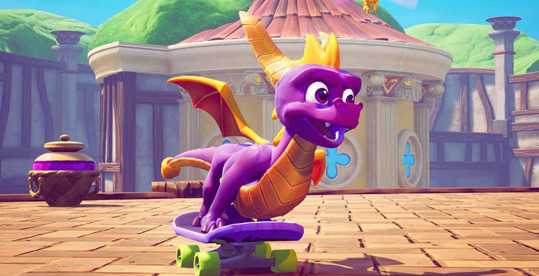 Resultado de imagem para spyro 3 year of the dragon ps4