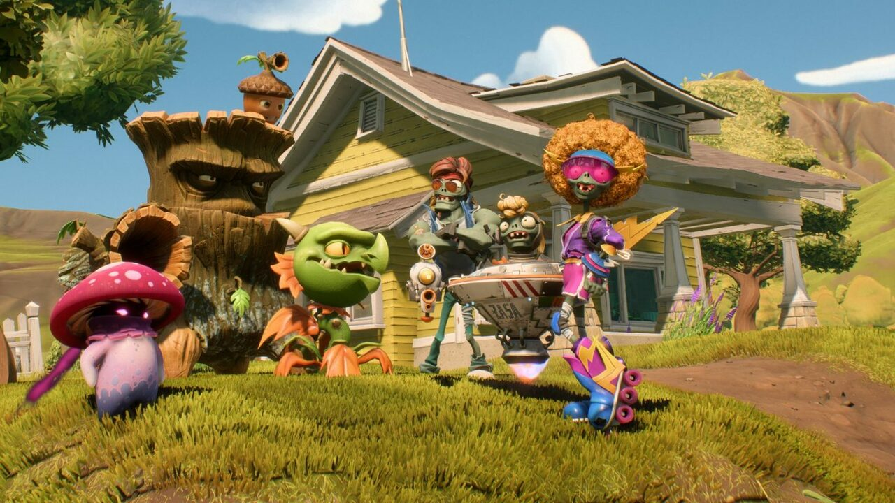 Plants vs. Zombies: Battle for Neighborville Out Next Month on PS4, But You Can Play It Early with Founders Edition