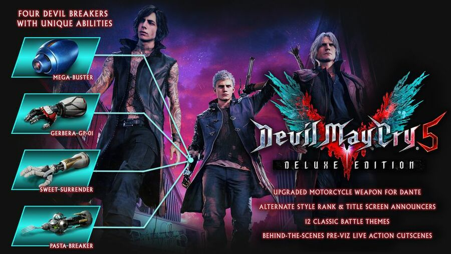 Devil May Cry 5 Deluxe Edition PS4 PlayStation 4