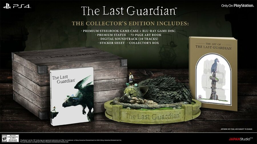 The Last Guardian Collector's Edition PS4 PlayStation 4 1
