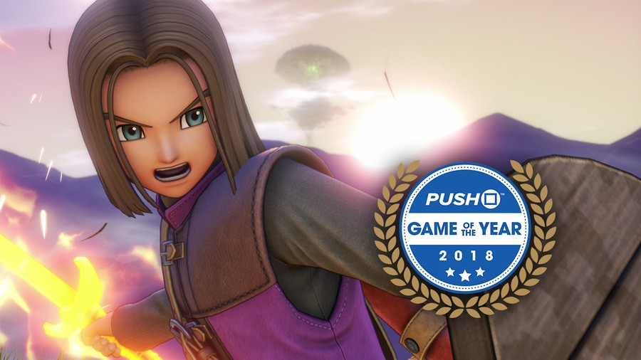 Dragon Quest 11 Game of the Year #4