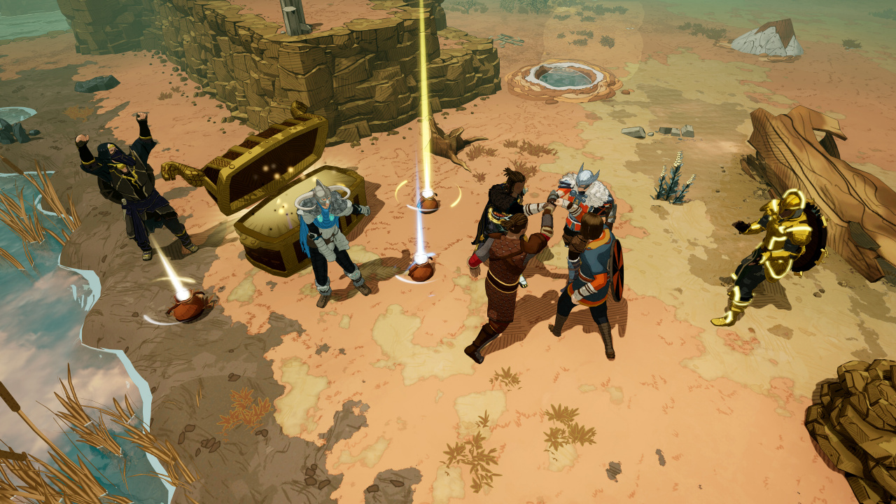 Promising Action RPG Tribes of Midgard Lands on PS5, PS4 in July