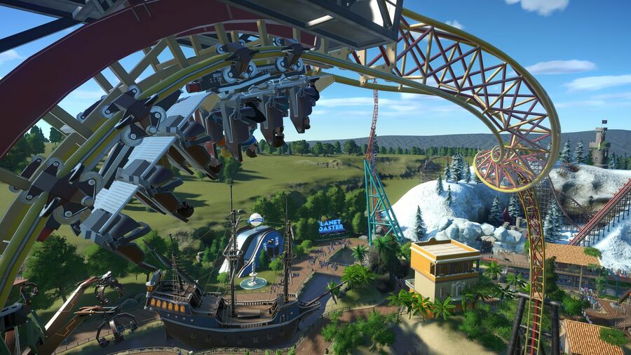 Planet Coaster PS4 PS5 PlayStation 5 Hands On 1