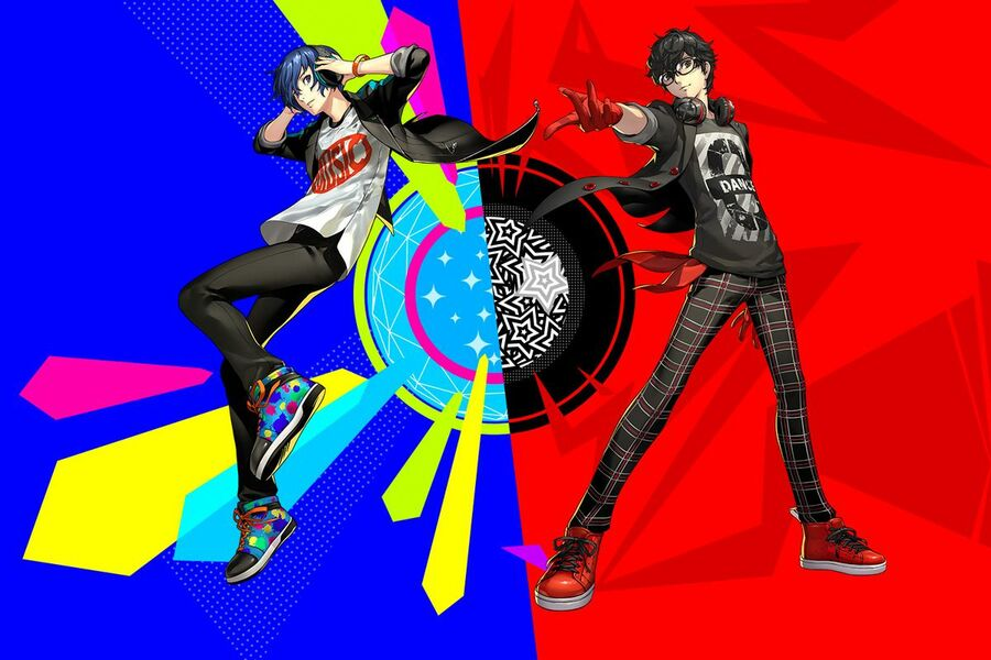 Persona 5 Dancing PS4 PlayStation 4 PS Vita Sony 1