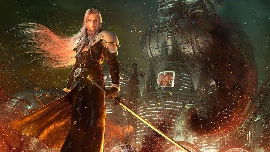 Final Fantasy VII Remake Size File Size Download 100GB PS4