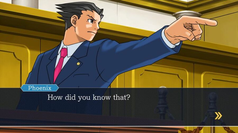 Phoenix Wright: Ace Attorney Trilogy PS4 PlayStation 4
