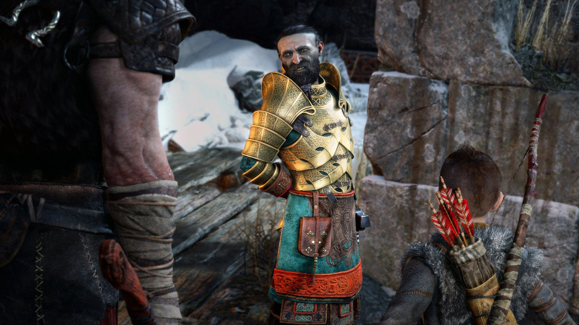 God of War - How to Complete All of Brok and Sindri's Favors
