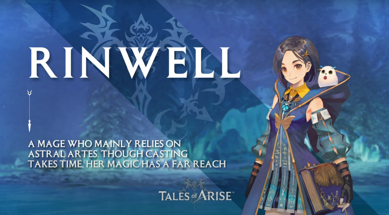 Tales of Arise Fourth Character Trailer Summons the Elements with Mage Rinwell