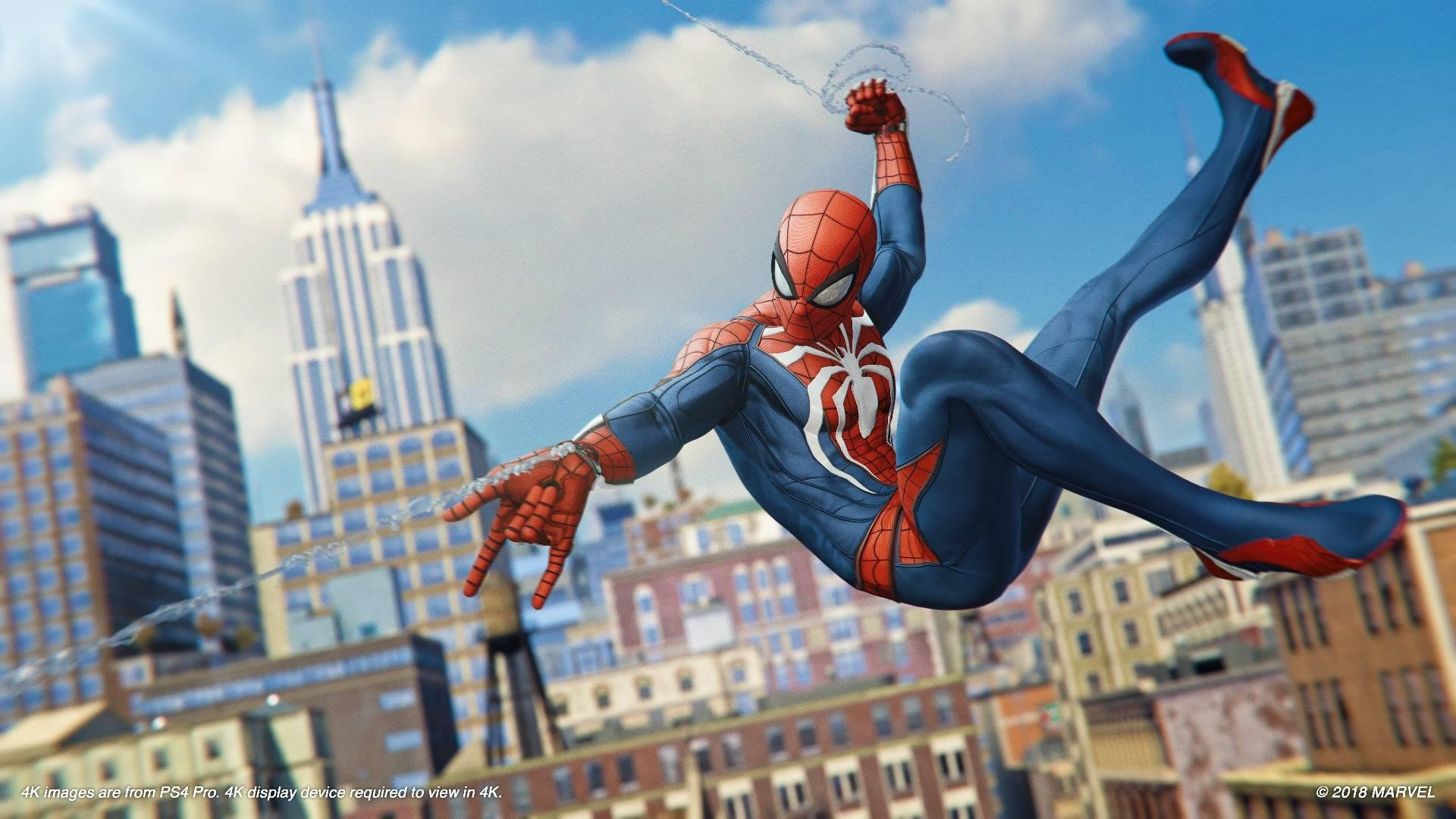 Spider Man Ps4 Wallpaper: All Easter Eggs And References