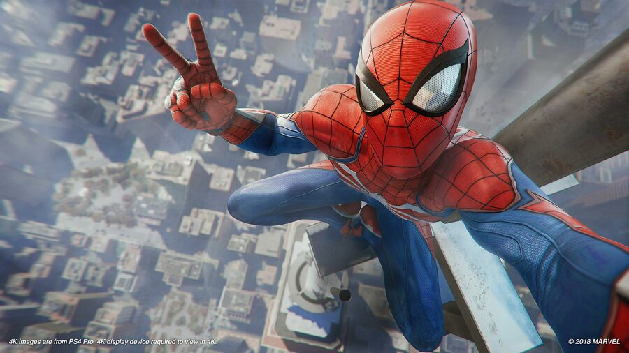 Marvel's Spider-Man Black Friday PS4 PlayStation 4