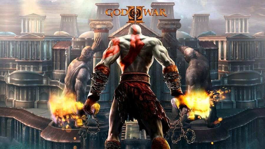 God of War 2 PS2 PlayStation 2