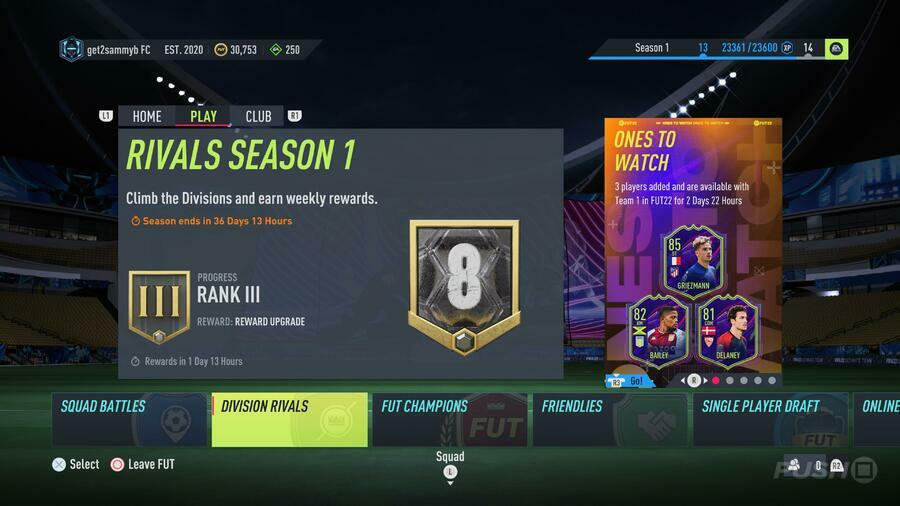 FIFA 22 Division Rivals - All Rewards, Release Dates, and Times Guide 1