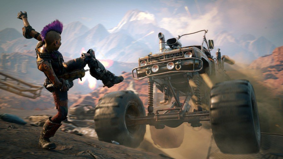 Rage 2s open world map will be fully explorable from the start rage 2 monstertruck 1526392048 gumiabroncs Choice Image