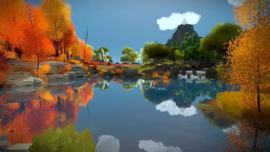 The Witness PS4 PlayStation 4 1