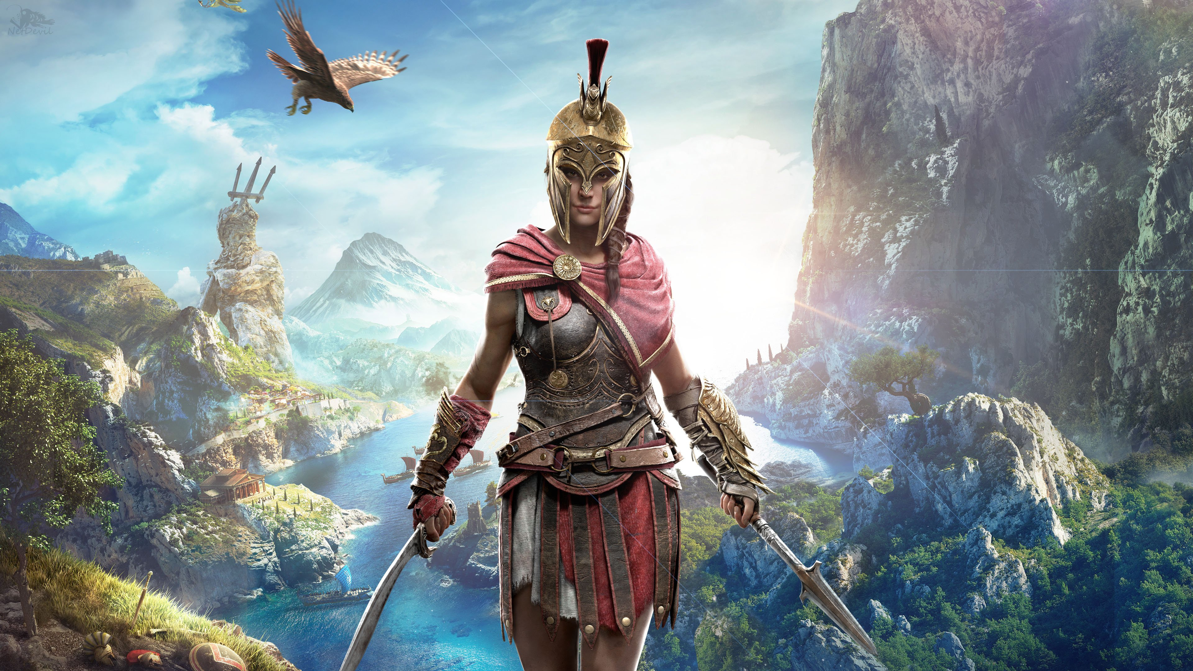 Assassin S Creed Odyssey New Game How To Start What Carries