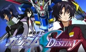 Gundam Seed Battle Destiny's still a rumour, so here's some generic artwork.