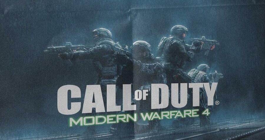 Call of Duty: Modern Warfare 4 Fake Promo Art