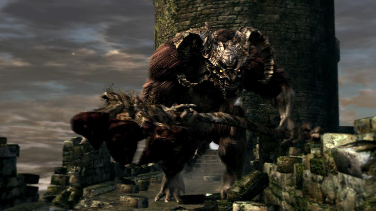 Dark Souls Remastered Taurus Demon Boss Walkthrough - Guide - Push