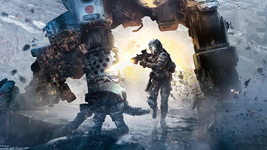 Titanfall Cover Art 2 PS4 PlayStation 4 1