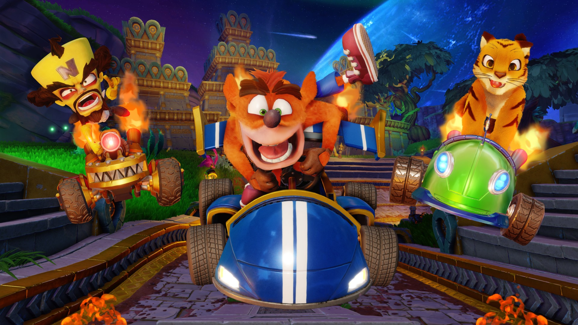Uk Sales Charts Crash Team Racing Nitro Fueled Leads The Pack