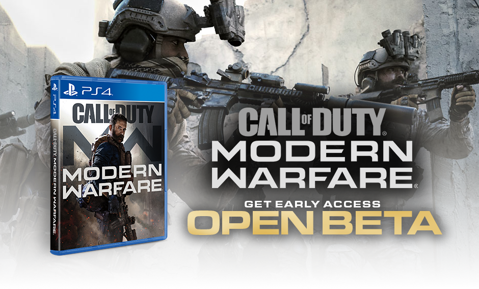 Call of Duty: Modern Warfare PS4 exclusive beta arrives September 12