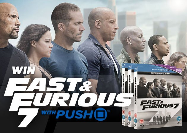 competition win fast furious 7 on blu ray. Black Bedroom Furniture Sets. Home Design Ideas