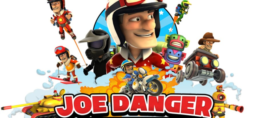 Joe Danger took a detour during his journey back to PSN – but he's finally arrived