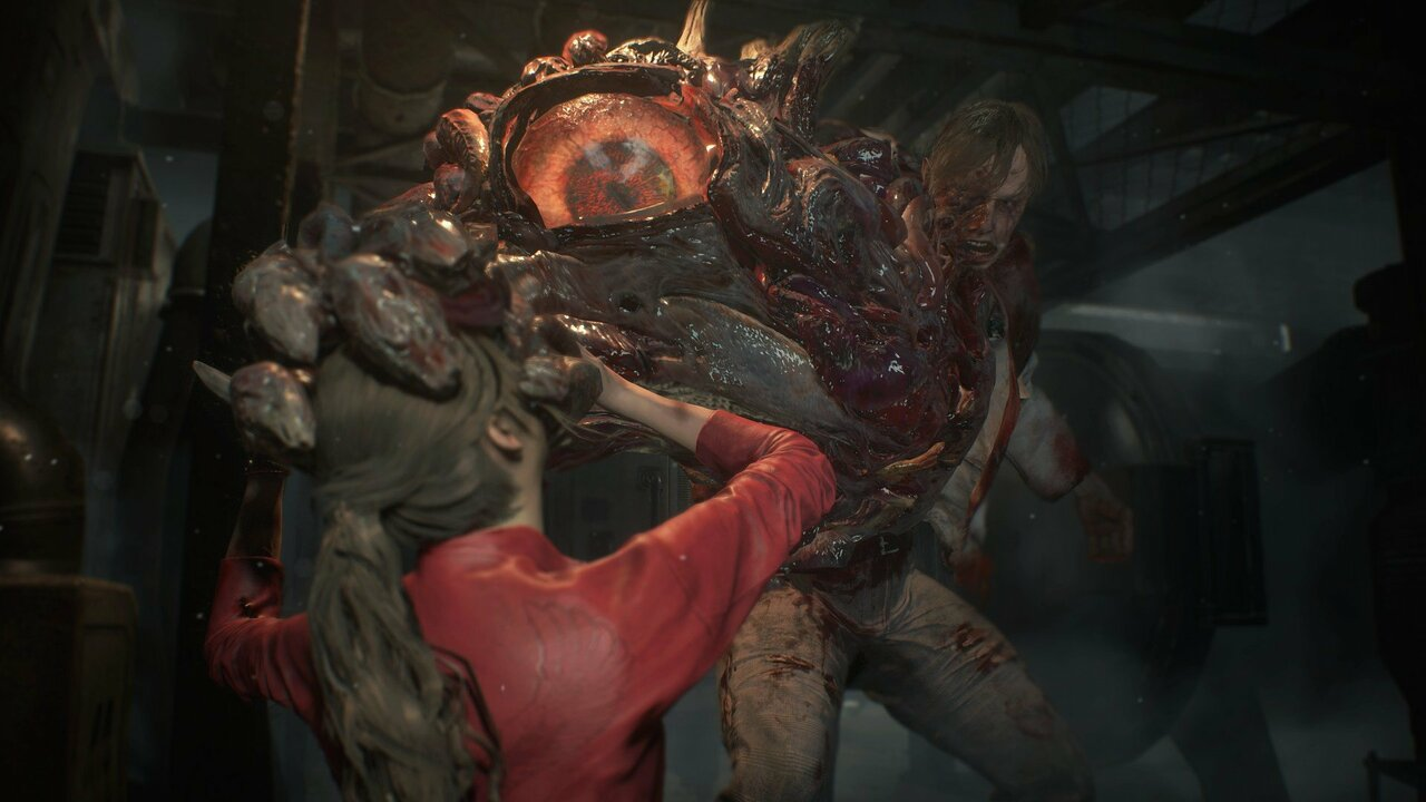 Gamescom 2018 Claire Redfield Kicks Ass In Resident Evil 2 Gameplay Push Square