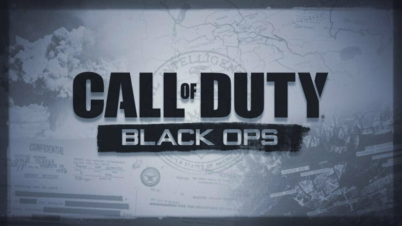 Call Of Duty Black Ops Seemingly Leaked Online With Key Art Image
