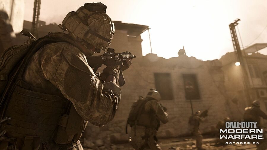 Call of Duty: Modern Warfare PS4 PlayStation 4