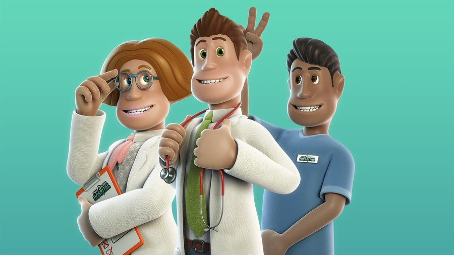 Two Point Hospital PS4 PlayStation 4