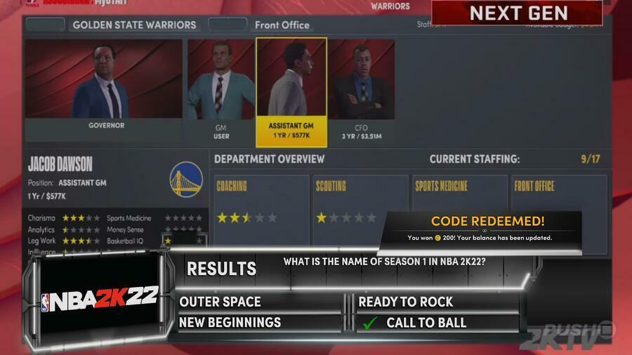 NBA 2K22 : Comment gagner du VC sans dépenser d'argent Guide 4