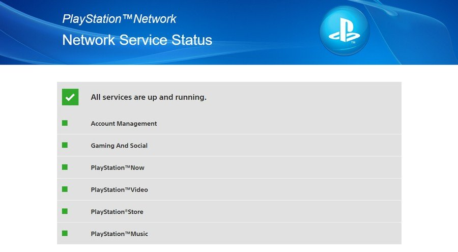 PlayStation Network PSN Down Offline PlayStation 4 PS4 Guides Status