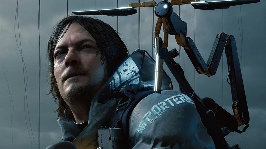 Death Stranding Norman Reedus PS4 PlayStation 4