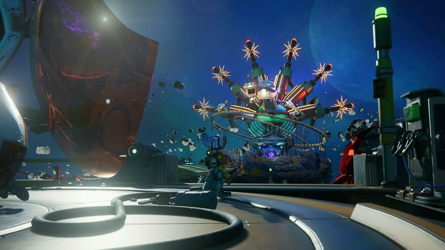 Ratchet & Clank: Rift Apart: Scarstu Debris Field (Zurkie's) - All Collectibles: Spybots, Gold Bolts, Armour, CraiggerBears 1