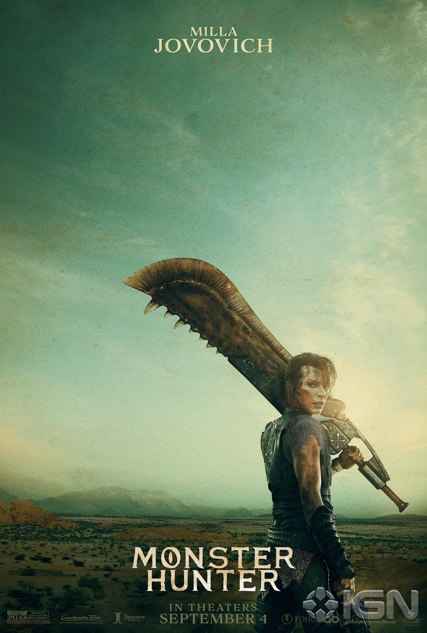 Monster Hunter Movie Posters Will Have Franchise Fans Spitting Wyvern Feathers Push Square