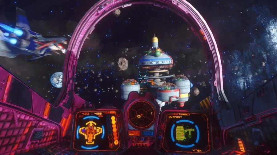 Rebel Galaxy Outlaw Under-rated PS4 Games 1