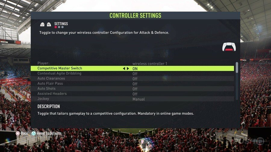 FIFA 22 Best Controller Settings Guide 1