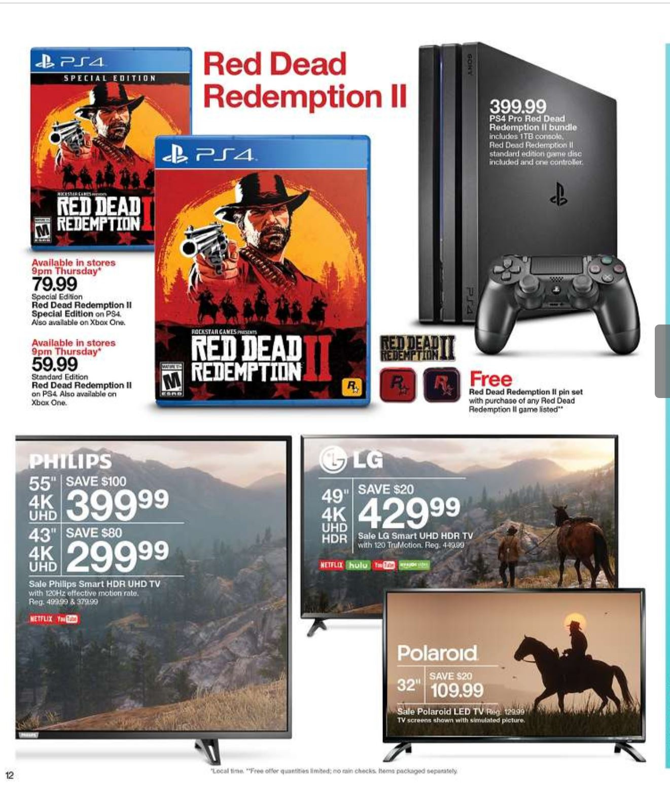 Red Dead Redemption 2 Available Early at Select Retailers in