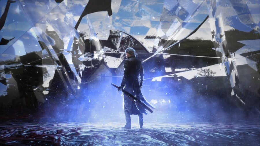 Devil May Cry 5 Special Edition PS5 Frame Rate 4K