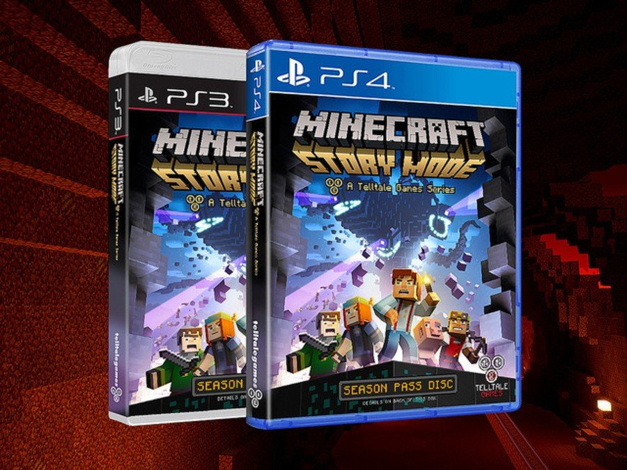 Minecraft Story Mode PS4 PS3 PlayStation 1