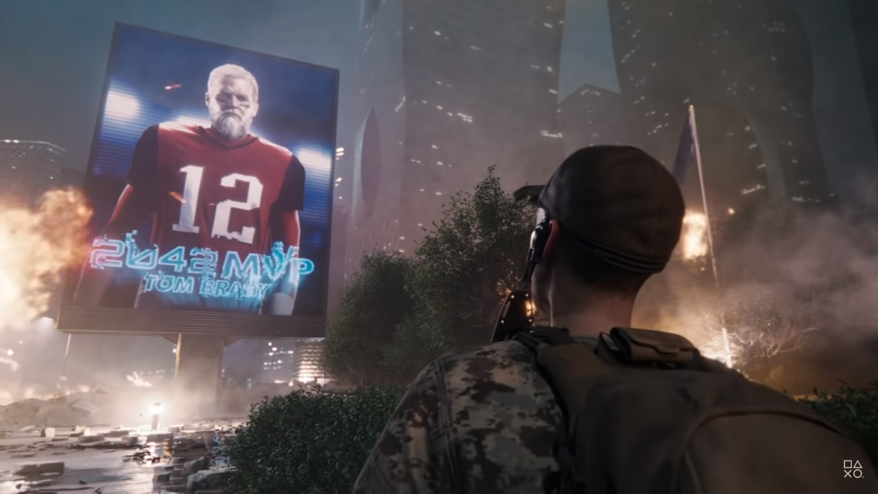 NFL QB Tom Brady Is Still MVP in Battlefield 2042