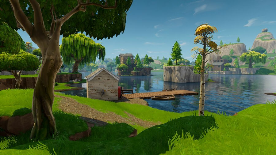 Fortnite Search Between Three Boats Location 1