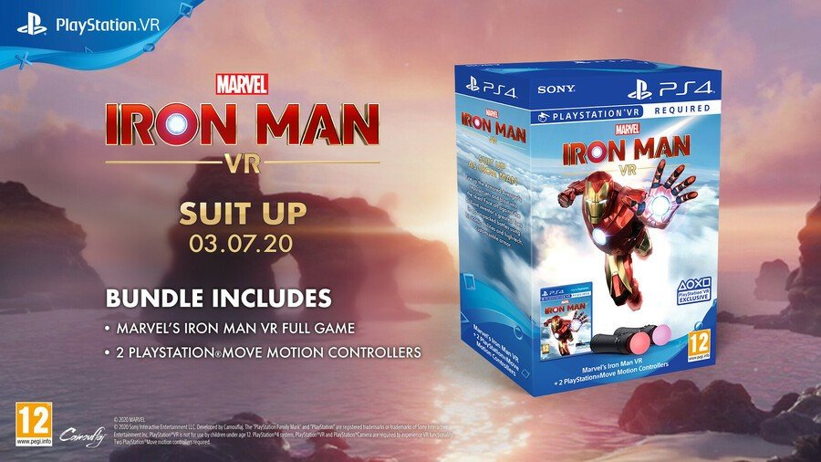 Marvel's Iron Man VR PS4 PlayStation 4 VR PSVR 3