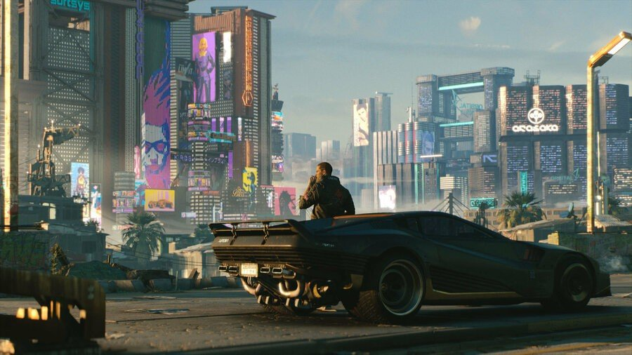 Cyberpunk 2077 PS4 PlayStation 4