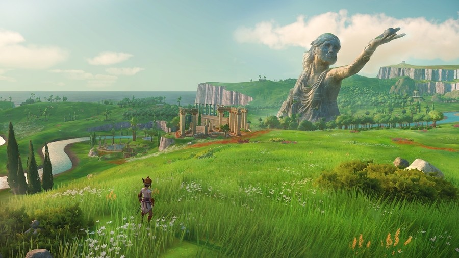 Gods & Monsters PS4 Breath of the Wild Assassin's Creed Odyssey